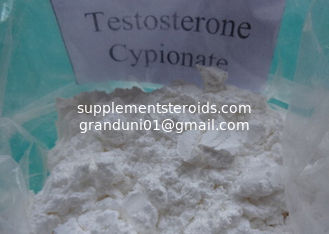China Anabolic Steroid Powder Testosterone Cypionate Raw Steroids Powder Muscle Growth 58-20-8 supplier