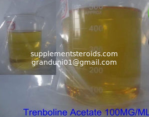 China 10161-34-9 Injectable Top Rated Bodybuilding Supplements Trenbolone Acetate 100 MG/ML supplier