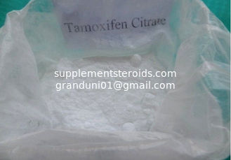 China 54965-24-1 Anti Estrogen Tamoxifen Citrate / Nolvadex Breast Cancer Steroids Ovarian Cancer supplier