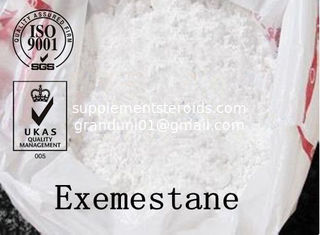 China Exemestane 107868-30-4 Medicine Aromasin Anti-estrogen Steroids Cancer Patients Bodybuilder supplier