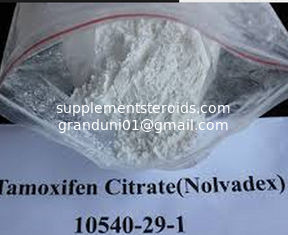 China Oral or Injectable Raw Weight Loss Powder 10540-29-1 Estrogen Nolvadex Tamoxifen Citrate supplier