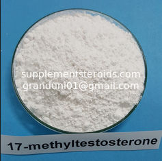 China Pharmaceutical 17-methyltestosterone Raw Testosterone Powder Methyltestosterone Steroids 58-18-4 supplier